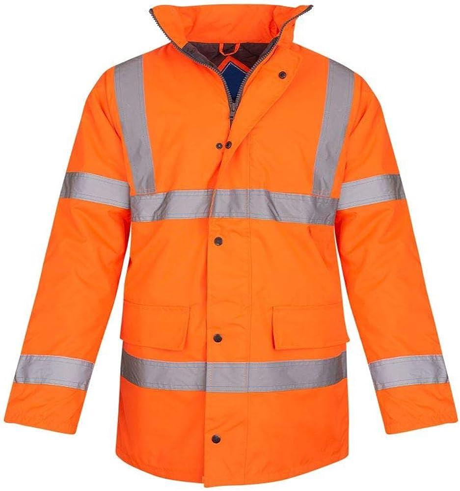 El Paso Mall shelikes Hi Vis Viz Visibility Security Super popular specialty store Fl Workwear Safety Parka