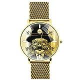 Orologio da polso - SCIENZIATO PAZZO (Oro)