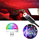 Accesorios Coche Interior Luces Led Tuning Luz 2 En 1, Mini Bola De Luz, Luz De Ambiente Led, Adecuada Para La DecoracióN Del Coche Nocturno