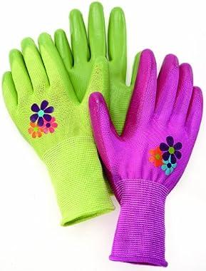 Magid AL314T Allegro Ultra Grip Gardening Glove, Medium, Color Varies