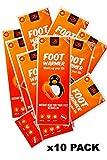 Only Hot Foot Warmers , Scaldapiedi , 8 ore di calore, Pronti all'uso, autoriscaldanti, 10...