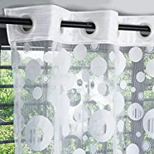 Story at Home Window Curtain, White, 215 x 120 cm, DSH1411