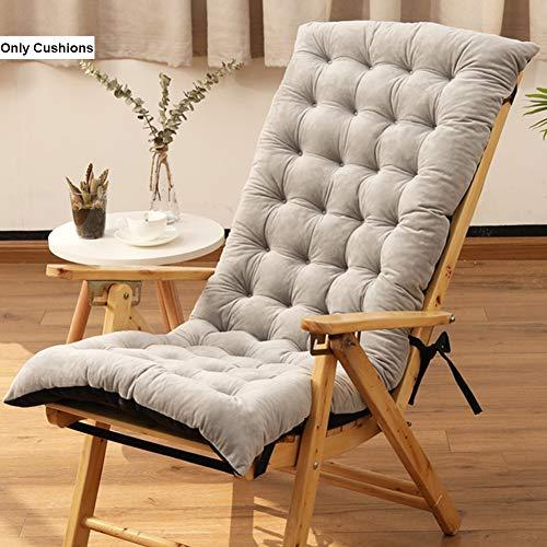 SXFYZCY Cojines para tumbonas Sillas mecedoras cojín para sillones reclinables para Viajes de Vacaciones en Interiores y Exteriores,B,125x50x10cm