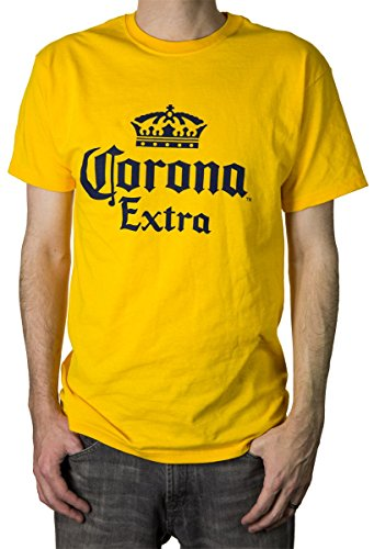 Calhoun Corona Extra-Logo-Männer Das T-Shirt Medium