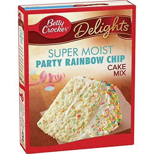 Betty Crocker Super Moist Rainbow Chip Cake Mix