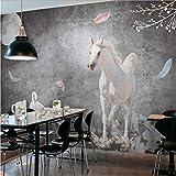 Zybnb Fondo de pantalla Retro cemento tiza pintada fondo de pantalla dormitorio dormitorio tienda de ropa fondo boceto fondo de pantalla mural