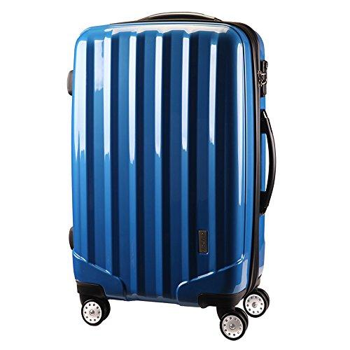 TSAロックスーツケース 4輪 ダブルキャスター KT523FCX 先上げ品 容量UP YKKダブルファスナー 軽量 旅行カバン キャリーケース 旅行用品 国内海外 修学旅行 海外留学 ビジネスバック キャリーバック S M L 小型 中型 大型 (L 大