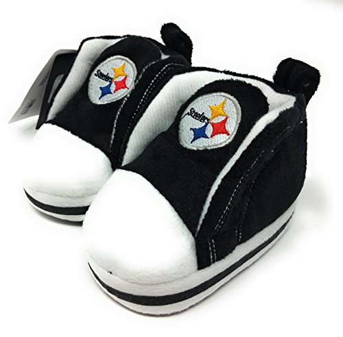 NFL Pittsburgh Steelers High Top Baby Bootie (0-3 Months)