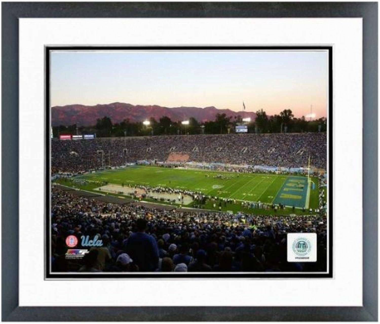 UCLA Bruins pink Bowl Photo (Size  12.5  x 15.5 ) Framed