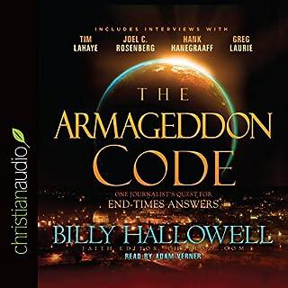The Armageddon Code audiobook cover art