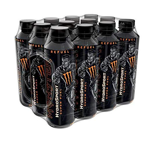 BrandNew Flavor Hydro Sport Charge by Monster energy Drink Bigger and Better 12pack x 650ml Bottle