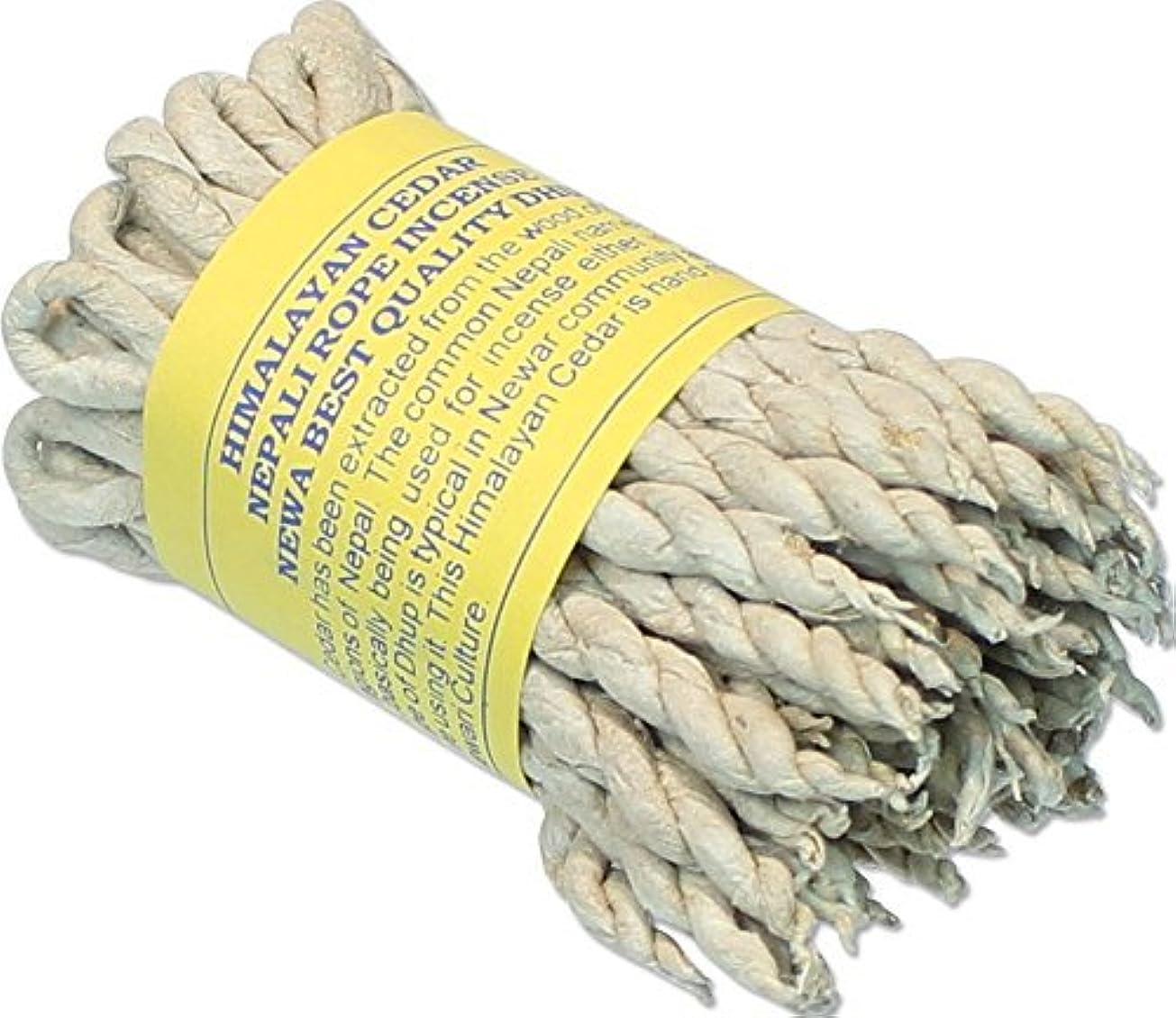 独裁者気取らない利益Himalayan Cedar Incenseロープ