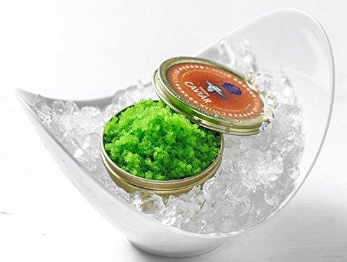 Tobiko Kaviar - Fliegender Fisch-Rogen 90g (Grün (Wasabi))