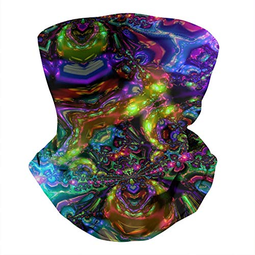 Trippy Mushroom Rave Outdoor Headwear Bandana Sports Scarf Face Mask for Men Women Headbands for Cycling