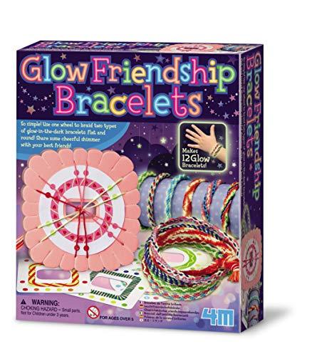 """Braccialetto dell'amicizia """"Glow in the Dark"""", 4 m, multicolore"""