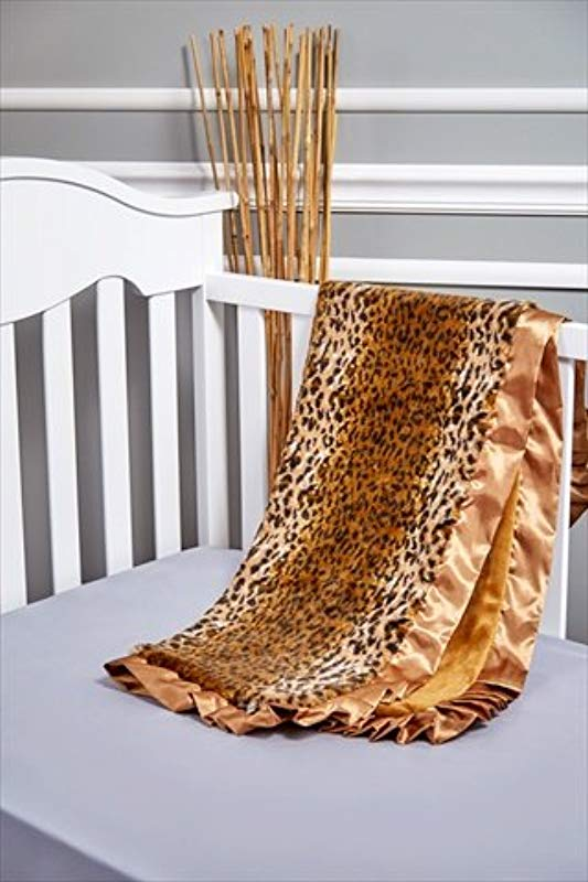 Scene Weaver 80330 Cheetah Baby Blanket44 Brown