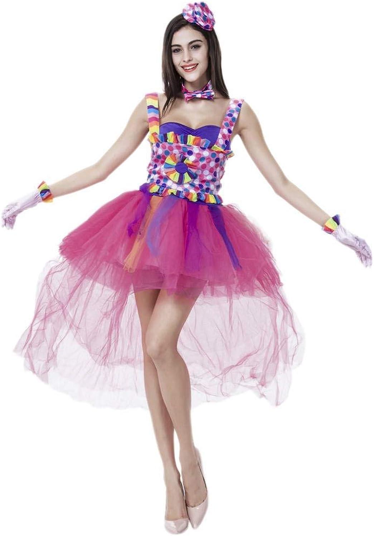 YiyiLai One Größe Punkt Design Damen Cosplay Kostüm Minikleid Rollenspiel Mehrfarbig B07J3B6QHQ Reichhaltiges Design    | Lebhaft und liebenswert
