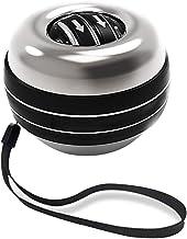 Bseack Powerball Zelfstart polsbal met zelf genereert LED kleurrijke lichten, totaal metalen uitvoering, roterende gyrosco...