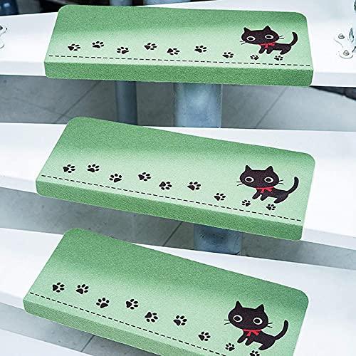 speoww Confezione da 15 tappetini per Scale Tappetini Antiscivolo Adesivo conciso Tappetini per Scale Tappetini Tappetini Antiscivolo Protezione per gradini RU (Dimensioni: 55 * 22 cm
