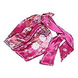 Healifty Gorra de dormir elástica para la pérdida de cabello, gorras de quimioterapia, gorros para mujer (estampado de flores grandes rosas)