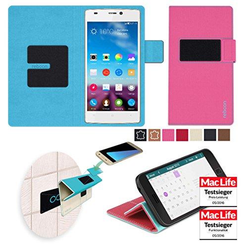 Hülle für Gionee F103 Tasche Cover Hülle Bumper | Pink | Testsieger