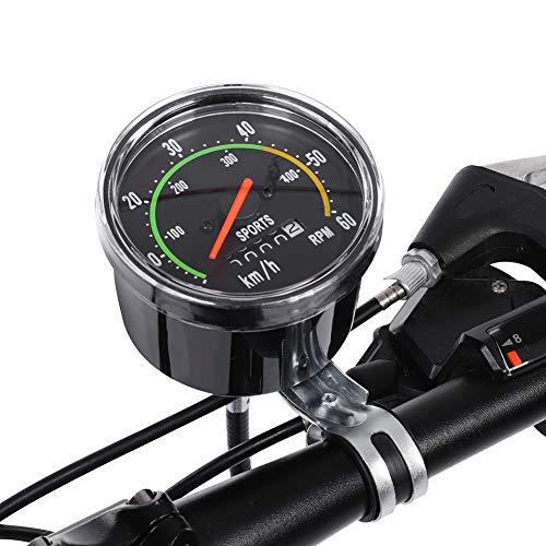 HaiQianXin Mecánica Bicicleta Ordenador Bicicleta Velocímetro Odómetro Ciclismo Cronómetro Ciclocomputadora
