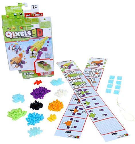 Qixels 3D Refill - Alien Strikers