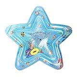 Tipo F de alfombra de vida marina de cojín de agua de pata de cojín hinchable de hielo de bebé de 65 x 68 cm.