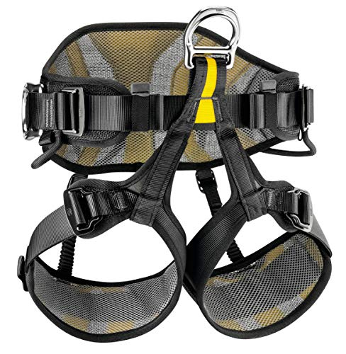 PETZL AVAO SIT 2, Black/Yellow, 2