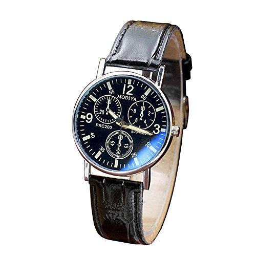 Hffan Sport Casual wasserdichte Armbanduhr mit analogem Quarzwerk für Herren