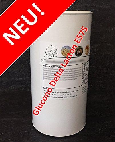 Reines GDL Glucono Delta Lacton, Reifemittel, E575, 1.000 Gramm