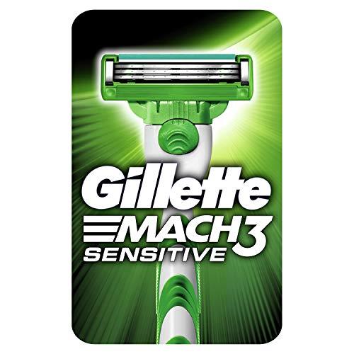 Gillette Mach3 Sensitive Herrenrasierer + 2 Nachfüllpackungen