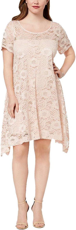 ROBBIE BEE Short Sleeve Floral TShirt Dresses