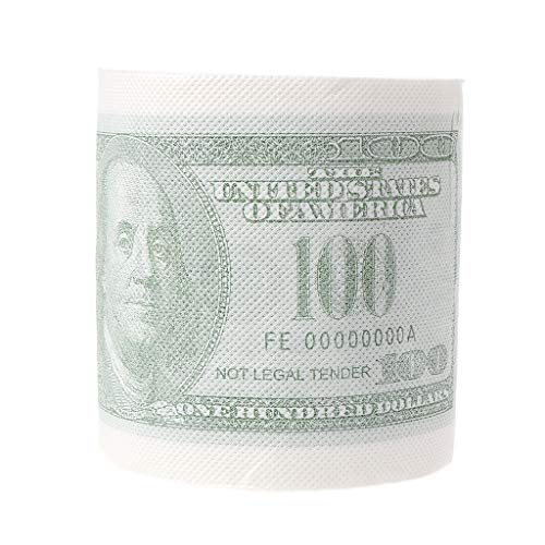 RROVE Hillary Clinton Donald Trump Dollar Humor Toilettenpapier Geschenk Dump Funny Gag Roll