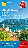 ADAC Reiseführer Oberitalienische Seen: Der Kompakte mit den ADAC Top Tipps und cleveren Klappkarten - Franz-Marc Frei