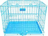 HANU Big &Adult Dog Heavy Duty Dog Crate Strong Metal Large Dog Cage 49 Inch for Big Dogs