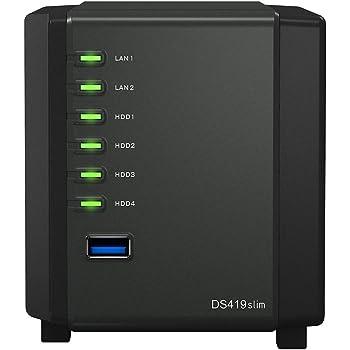 Synology DiskStation DS419slim Ethernet Torre Negro NAS - Unidad ...