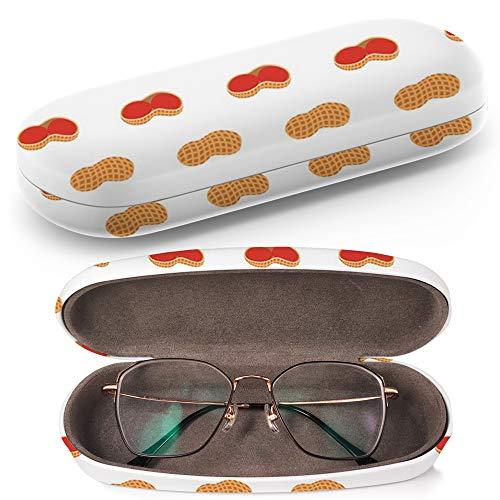 Fruits Pink Hardcase Brillenetui Sonnenbrillenetui Brillenbox Kunststof Clamshell-Art-Brillen-Fall mit Brille-Reinigungstuch
