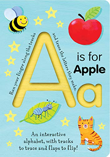 A is for Apple (Kids Trace-and-Flip)
