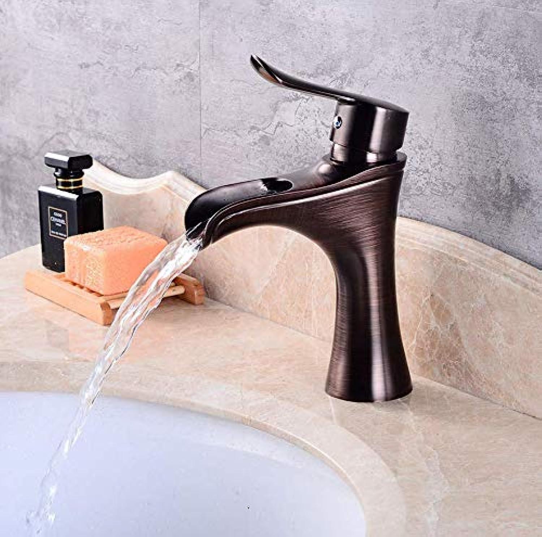 Dwthh Antiken Stil Messing Deck Mount Becken Bad Wasserhahn Vanity Vessel Sinks Mixer Bad Wasserhahn