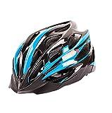 WANGSCANIS Casco de Bicicleta para Adultos Casco Bici Unisex Ajustable para Ciclismo de Montaña y Carretera Casco Bicicleta con Protección Seguridad para Hombres y Mujeres, Azul & Negro