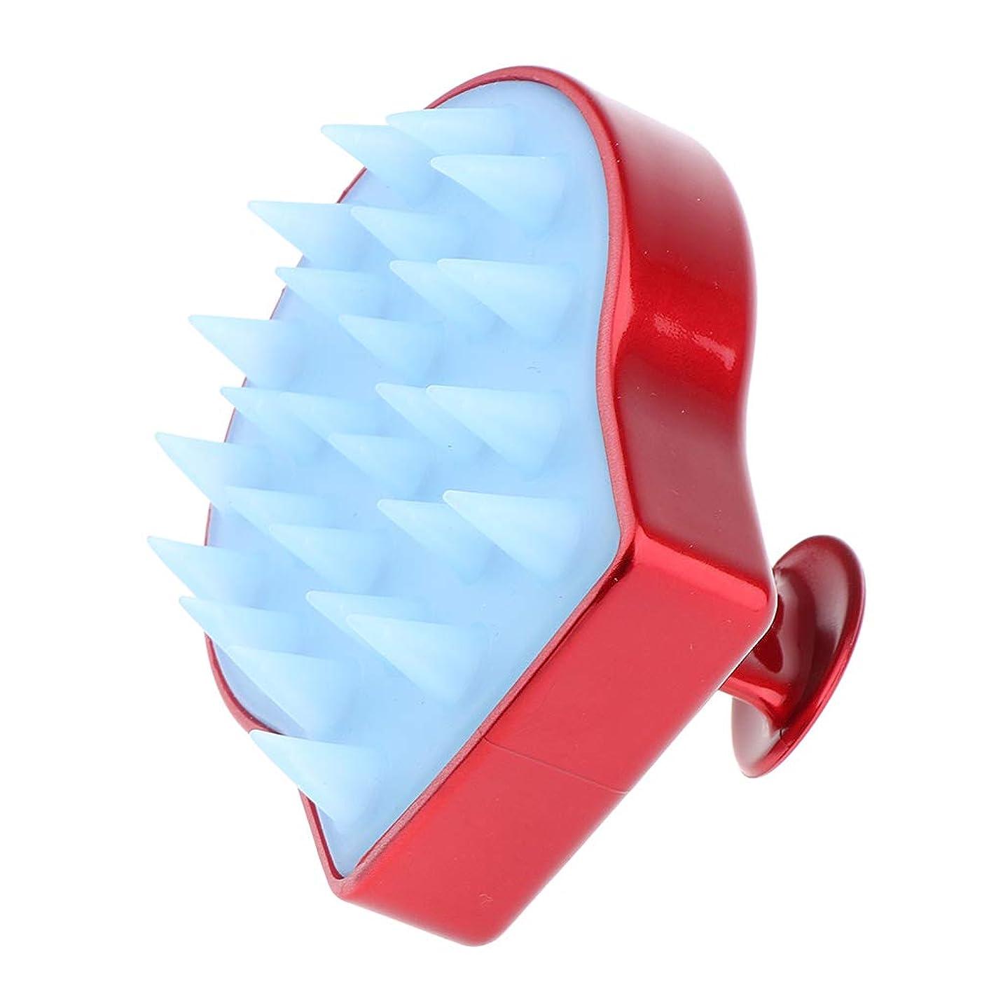 石膏バックアップ信頼性のあるB Blesiya 洗髪ブラシ ソフトシリコン シャンプーブラシ 頭皮マッサージ くし