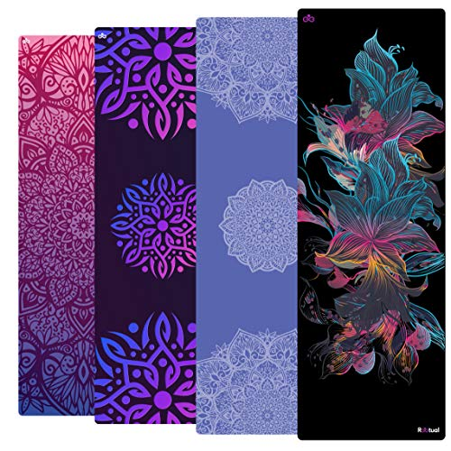Reetual, The Vinyasa Yoga Mat That Adores Sweat | Premium 2in1 Hot Yoga Mat Non Slip Combo Towel - With...