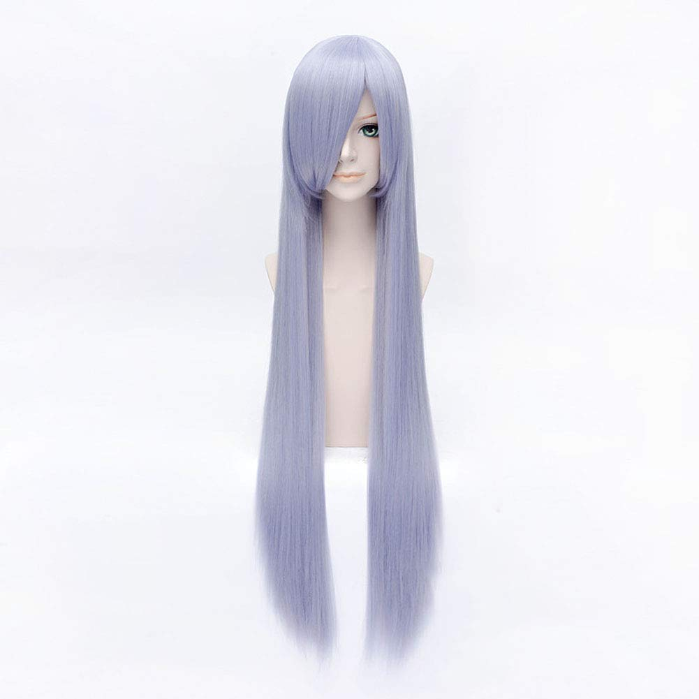 Jsmhh Straight Hair Purple Synthetic Challenge the lowest price of Japan ☆ Wig Heat-Resista Lace Front Max 89% OFF