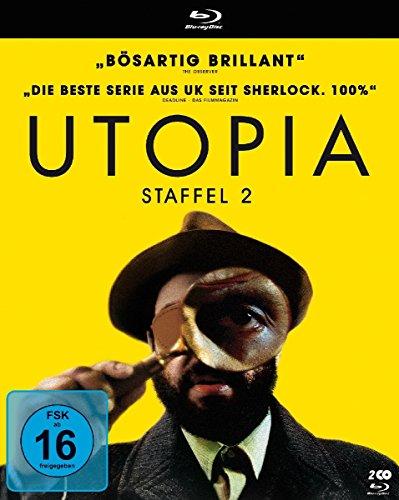 Utopia - Staffel 2 [Francia] [Blu-ray]