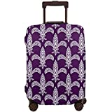 Reisegepäckabdeckung Karneval Fleur De LYS Kofferabdeckungsschutz Passt 22-24 Zoll Gepäckabdeckung