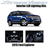 Xtremevision Interior LED for Ford Explorer 2015+ (11 Pieces) Pure White Interior LED Kit + Installation Tool