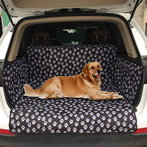 MYYXGS Hund Auto Kissen Haustiere FüR AusflüGe Verwendung HaustierträGer Oxford Wasserdichter Hundesitzbezug Haustier Auto RüCksitz HäNgende Matratzenschoner