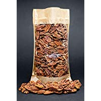 Mitades de nueces de pacana crudas, libres de transgénicos (700gr)