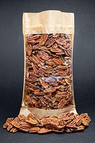 Moitié de noix de pécan crues, sans OGM, recueillies dans la zone biologique (700gr)
